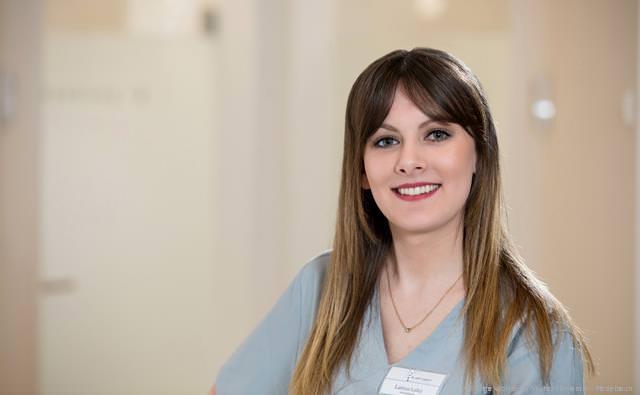 Larissa Luley Auszubildende zur Zahnmedizinischen Fachangestellten