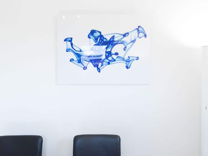 Bild im Wartezimmer Zahnarztpraxis Dr. Axel Ruppert